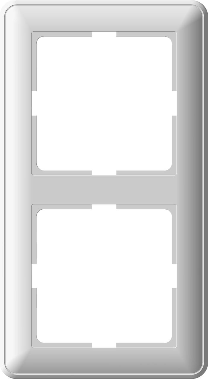 W59 2-постовая РАМКА, белый