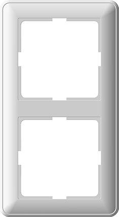 W59 2-постовая РАМКА, белый, фото 2