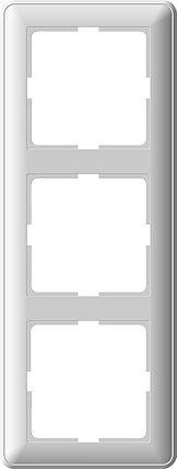 W59 3-постовая РАМКА, белый, фото 2