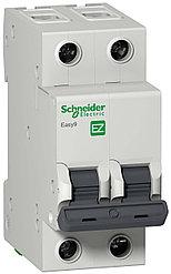 Автоматический выключатель EASY 9 2П 20А С 4,5 кА 230 В