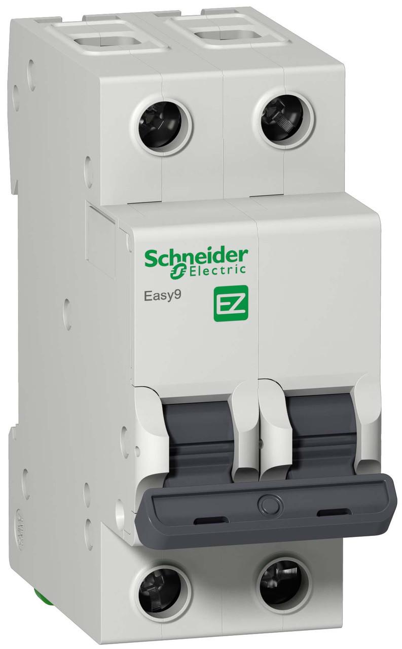 Автоматический выключатель EASY 9 2П 63А С 4,5 кА 230 В