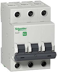 Автоматический выключатель EASY 9 3П 20А С 4,5 кА 400 В