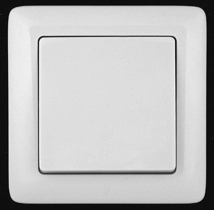 Выключатель ХИТ СУ 1 кл.бел, фото 2