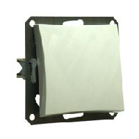 Одноклавишный выкл СХ1 мех м, белый, фото 2