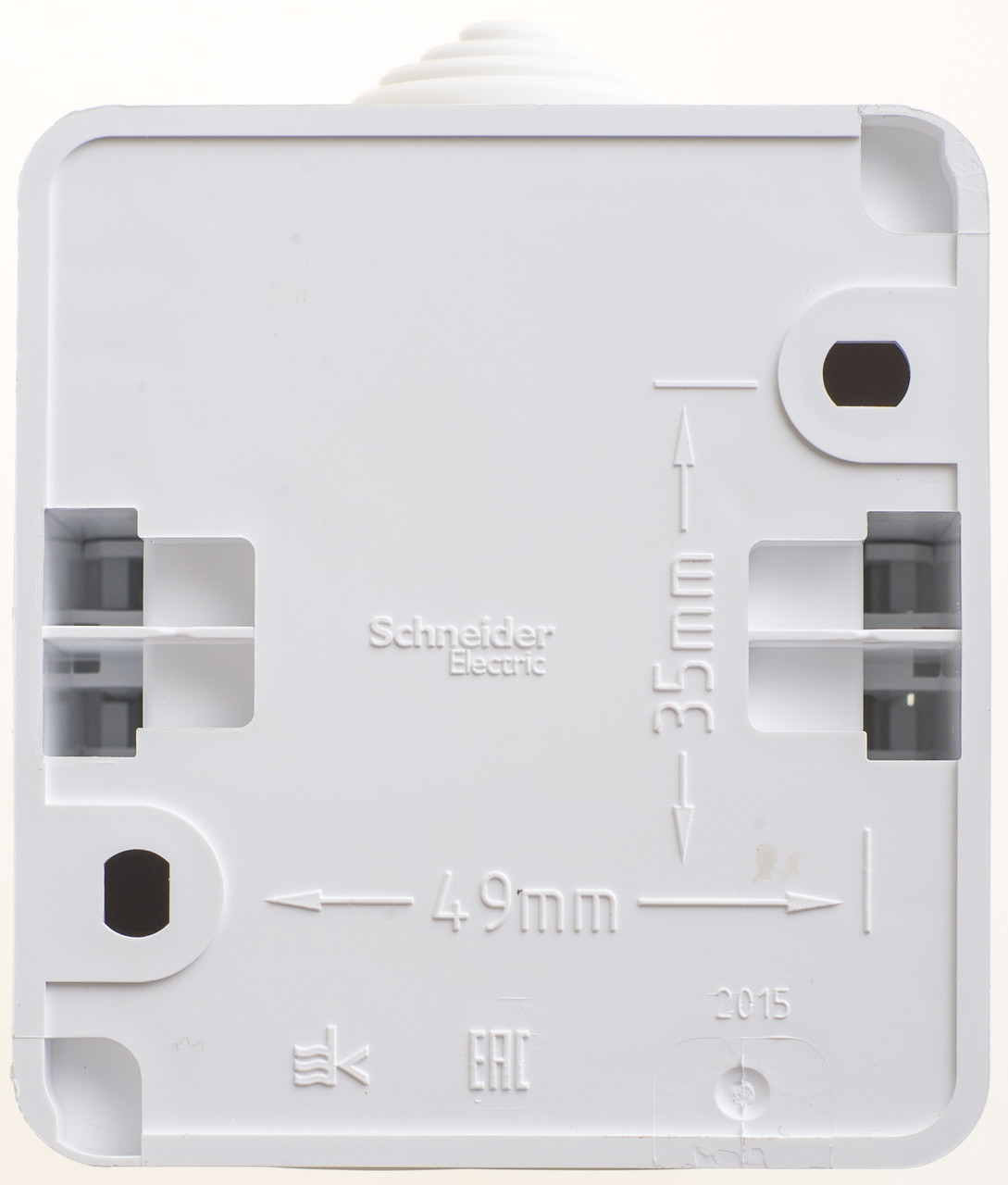 Одноклавишный выключатель IP 44 СХ1