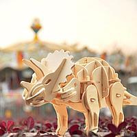 Динозавр Triceratops, робот-конструктор модель, фото 1