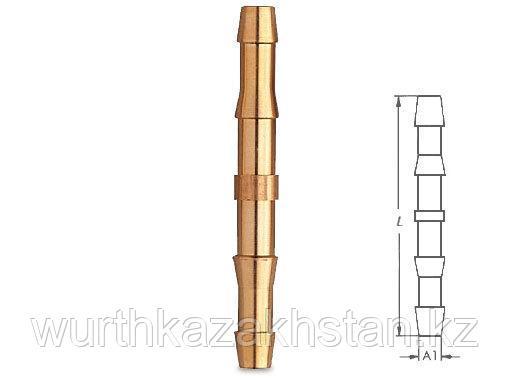 Пневмопереходник - трубка  D6