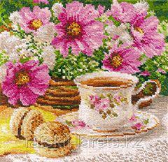 """Набор для вышивания крестиком """"Утренний чай"""" 5-12"""