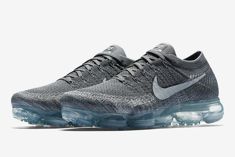 Кроссовки Nike Air Vapor Max 2018 серые