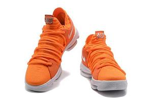 Баскетбольные кроссовки  Nike KD X (10) from Kevin Durant оранжевые, фото 2