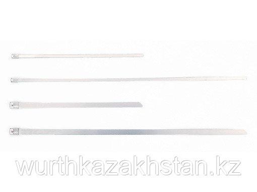 ЛЕНТОЧНЫЙ ХОМУТ (D19-102MM) метал.