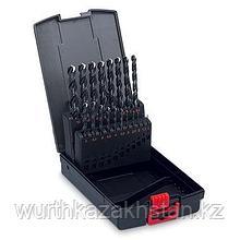 Набор свёрел HSS (1-10)X0,5 для стали до 1000 Н/мм2