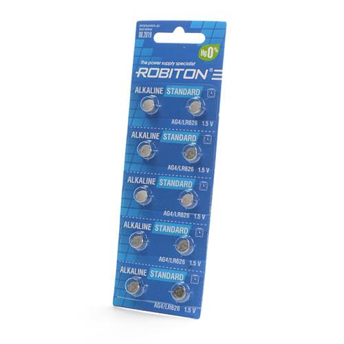 Батарейка алкалиновая часовая Robiton AG4/LR626 1,5v