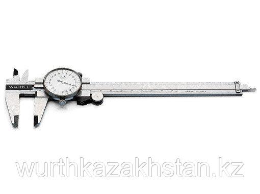 Штангельциркуль 0-150 мм , точность - 0,02 c круглым циферблатом