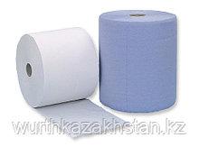 Салфетки 3-х слойные синие 38Х39, 1000 шт. рулон