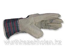 Перчатки WURTH кожа-ткань