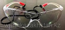 Очки защитные прозрачные со шнурком по BS EN 166:2001