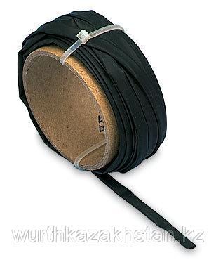 Трубка для горячей посадки чёрная (1,2-0,6MM)