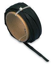 Трубка для горячей посадки чёрная D 4,8- 2,4MM