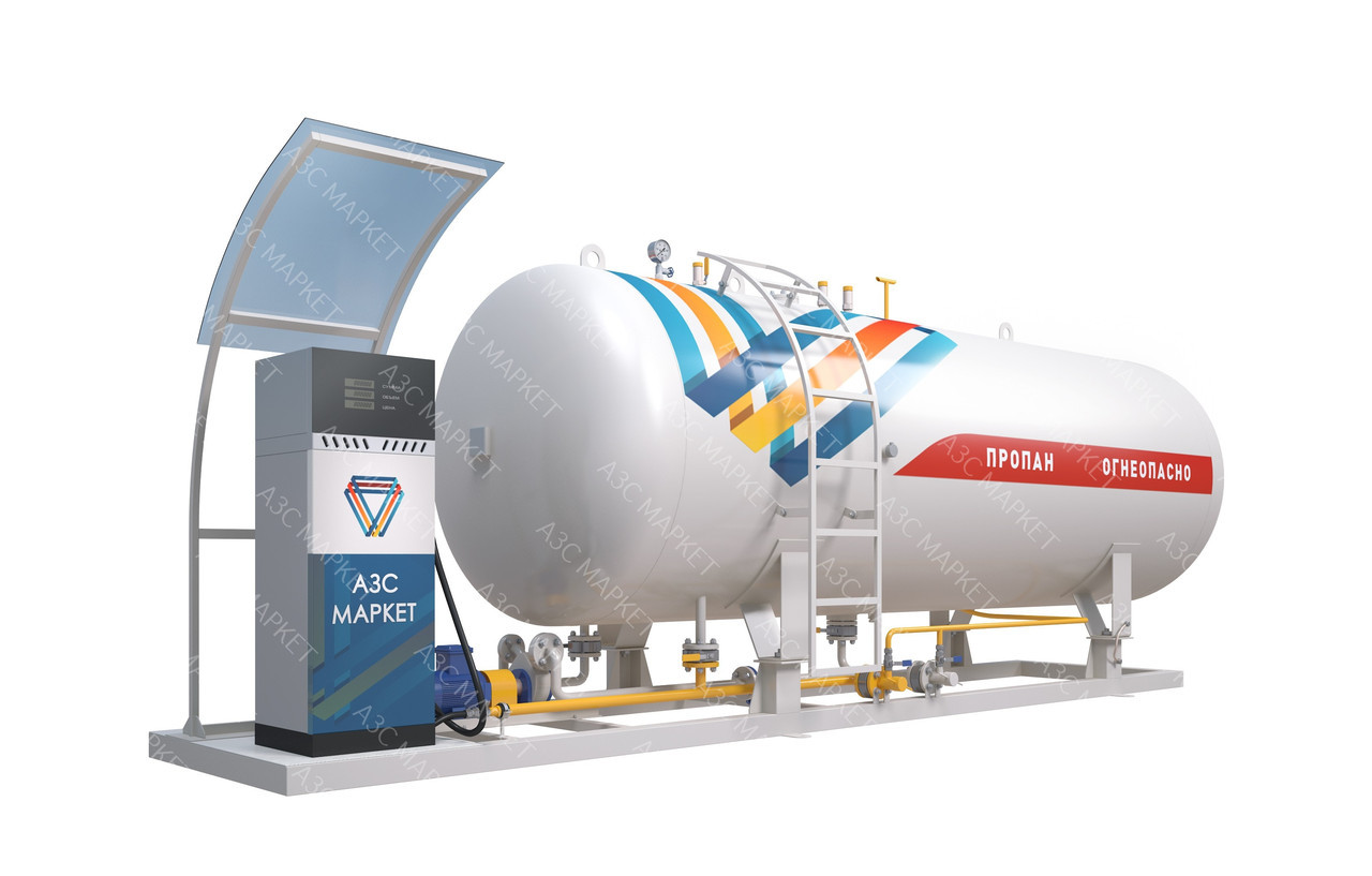 Автогазозаправочный модуль для заправки сжиженным газом (СУГ-5), типа «АЗС-М LPG-X-Х-X»