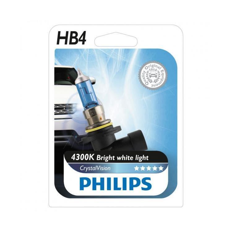 Галогенные лампы Philips HB-4 Crystal Vision