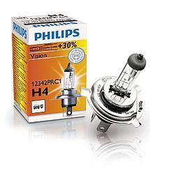 Лампы галогенные PHILIPS H4 +30