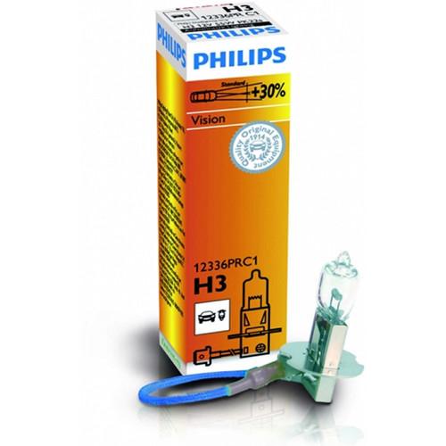 Лампы галогенные PHILIPS H3+30