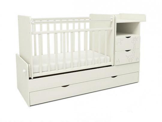 Детская кровать СКВ-5 «Жираф» 550031