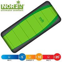 Спальный мешок NORFIN Мод. LIGHT COMFORT 200 FISHING (молния слева)(190х80см)(0,9кг.)(+5/+20ºС) R 15208