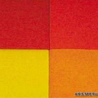 41009- 3 Фетр листовой, ассорти, 3 мм, 20*30 см, упак./4 шт., 'Астра' (5)