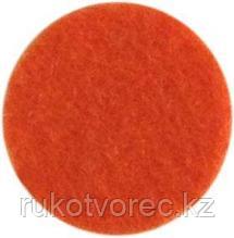 Фетр листовой, 1 мм, 180 гр, 30*30 см оранжевый