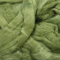 Шерсть для валяния вискоза 100%, 50 гр. (0582 зеленое яблоко)