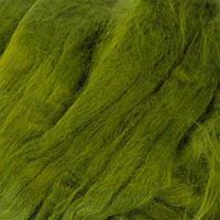 Шерсть для валяния вискоза 100%, 50 гр. (1782 оливковая зелень)