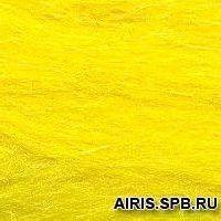 Шерсть для валяния полутонкая 100%, 100 гр. (0591 желтый)