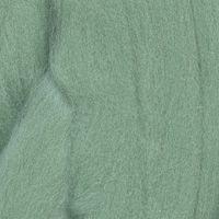 Шерсть для валяния полутонкая 100%, 100 гр. (3856 мята)
