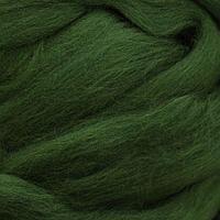 Шерсть для валяния мериносовая тонкая 100%, 100 гр. (1384 морские водоросли)