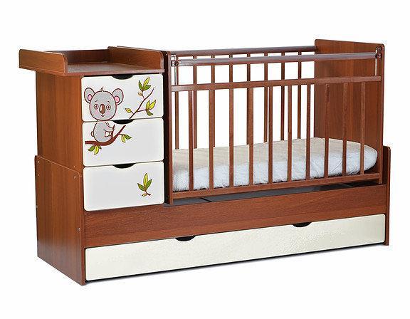 Детская кроватка трансформер Коала  СКВ-5