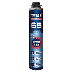 TYTAN 65 ЗИМНЯЯ ПУ монтажная пена пистолетная PROF (65)