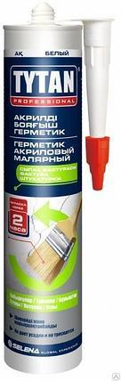 TYTAN герметик акриловый малярный (310 мл) белый, фото 2