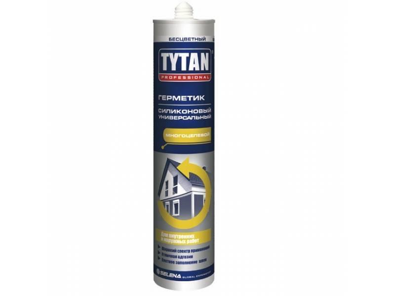 TYTAN универсальный силикон бесц 12 шт в коробке