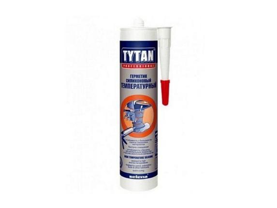 TYTAN высокотемпературный герметик красн. 12 шт в коробке, фото 2