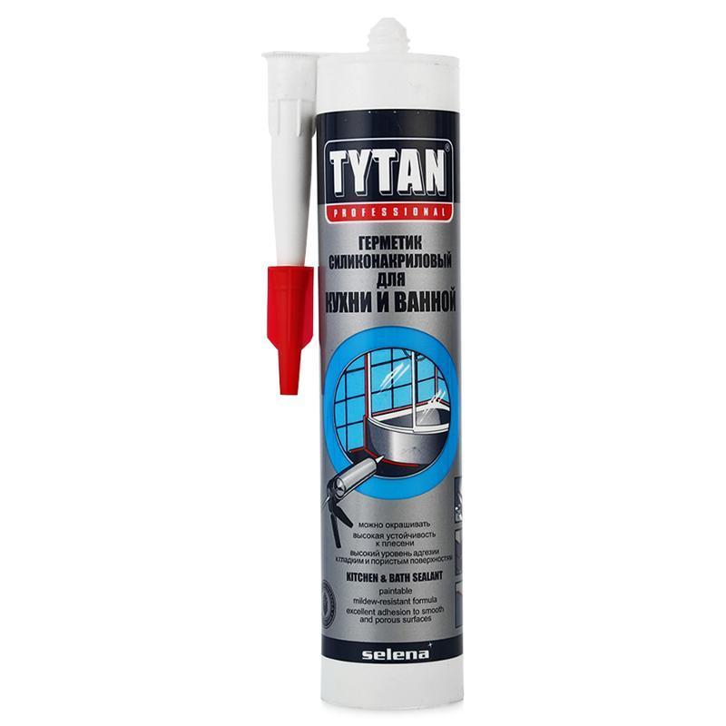 TYTAN герметик для кухни и ванны бесц 12 шт в коробке