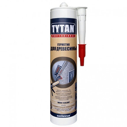 TYTAN герметик для древесины вишня , фото 2