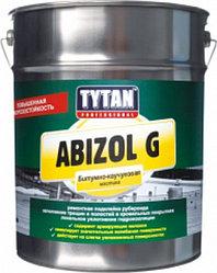 ABIZOL G мастика битумная для бесшовной гидроизоляции G