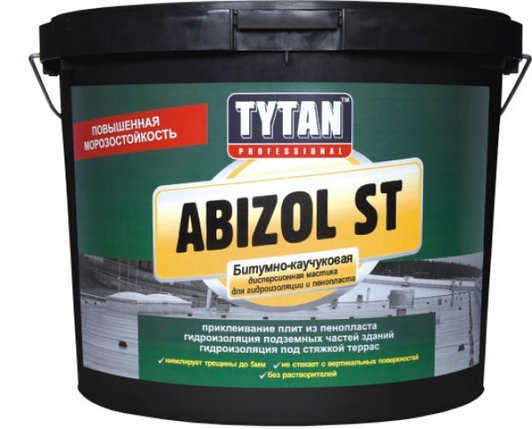 ABIZOL ST мастика битумная для бесшовной гидроизоляции ST, фото 2