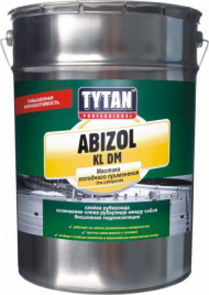 ABIZOL KL DM мастика холодного применения для рубероида KL DM, фото 2