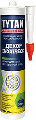Монтажный клей TYTAN Экспресс ДЕКОР (310мл) белый