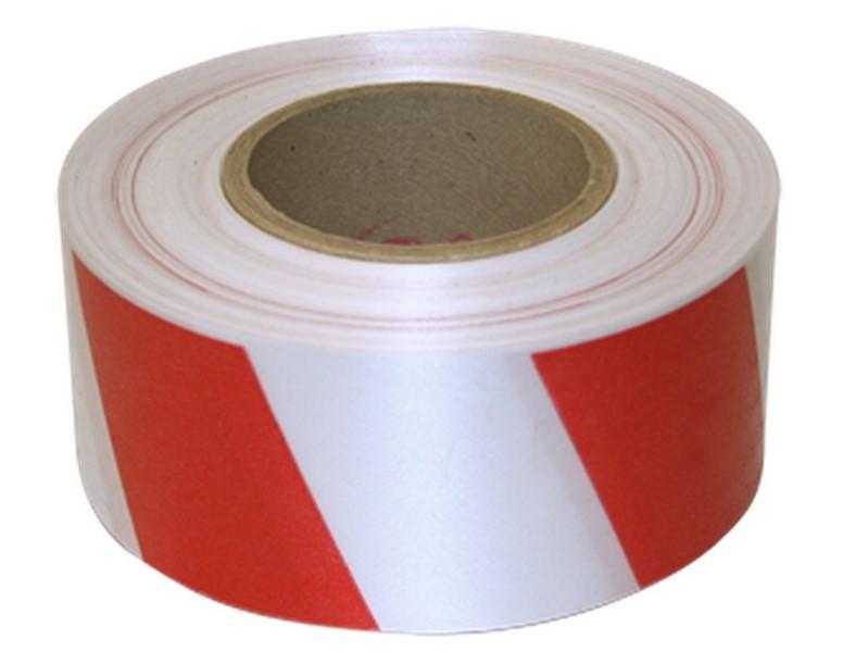 TYTAN лента сигнальная красно-белая 800 мм x100м