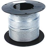 Трос стальной оцинкованный DIN 3055 д. 6мм