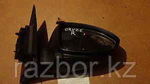 Зеркало правое Chevrolet Cruze